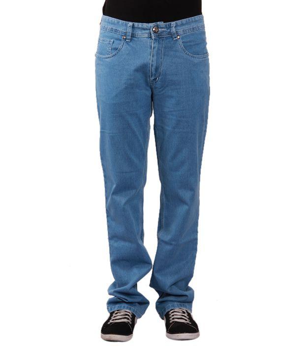 Urban Navy Ultra Light Blue Jeans