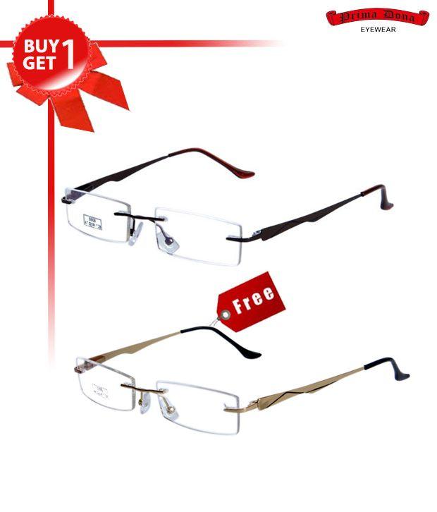Prima Dona Wonderful Brown Buy 1 Get 1 Optical Frame