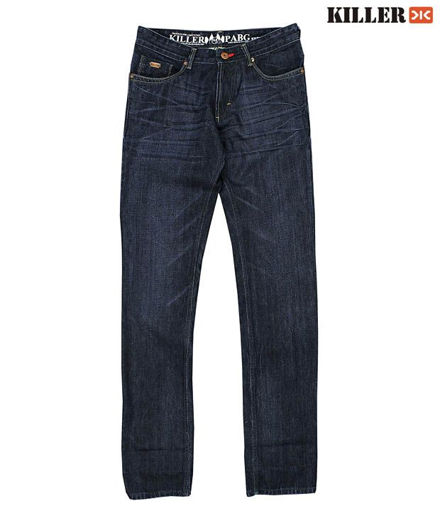 Killer Smart Navy Blue Men's Jeans