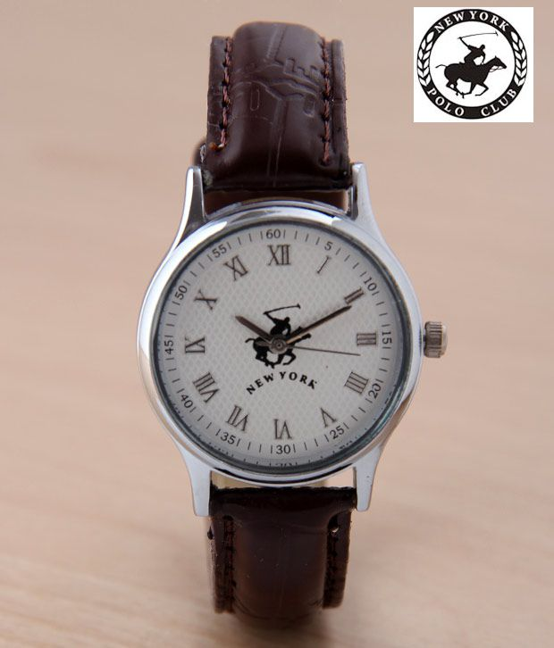 NYPC Smart White Dial Watch