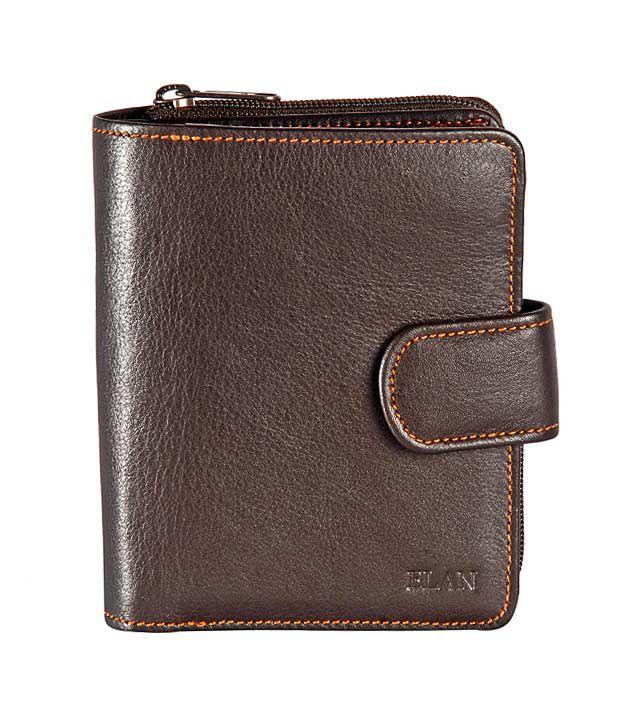 Elan Radiant Brown Ladies Wallet
