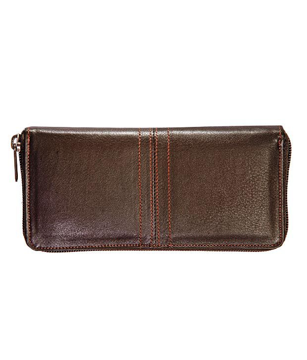 Elan Lovely Brown Ladies Wallet