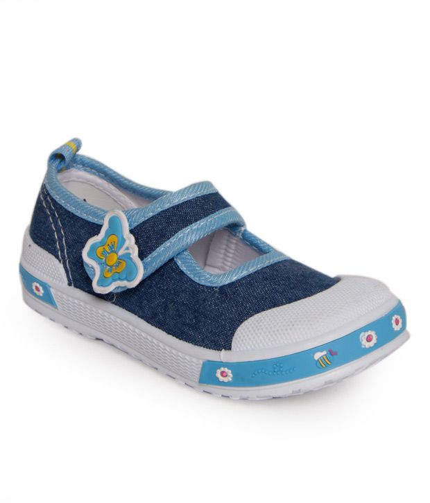 Little Frogs Lovely Blue Casual Shoes For Kids