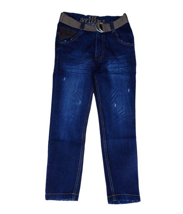 612 Ivy League Classic Blue Jeans
