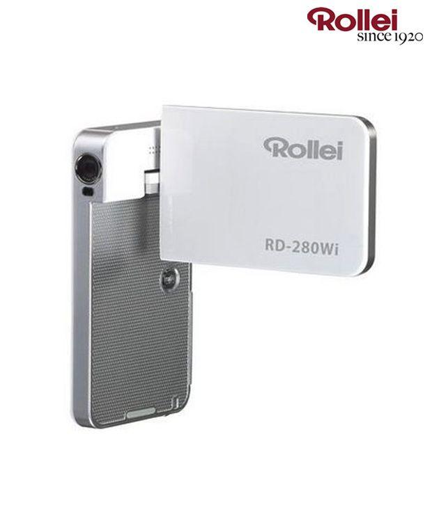 Rollei RD-280Wi Digital Video Camera (White)