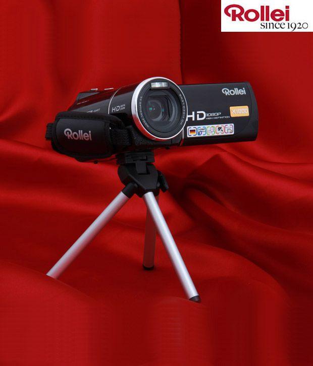 Rollei SD-X1800 Digital Video Camera (Black)
