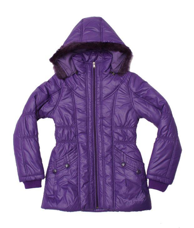 Fort Collins Purple Hoodie Jacket For Kids