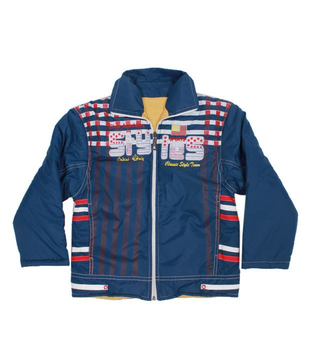Fort Collins Classic Blue Jacket For Kids