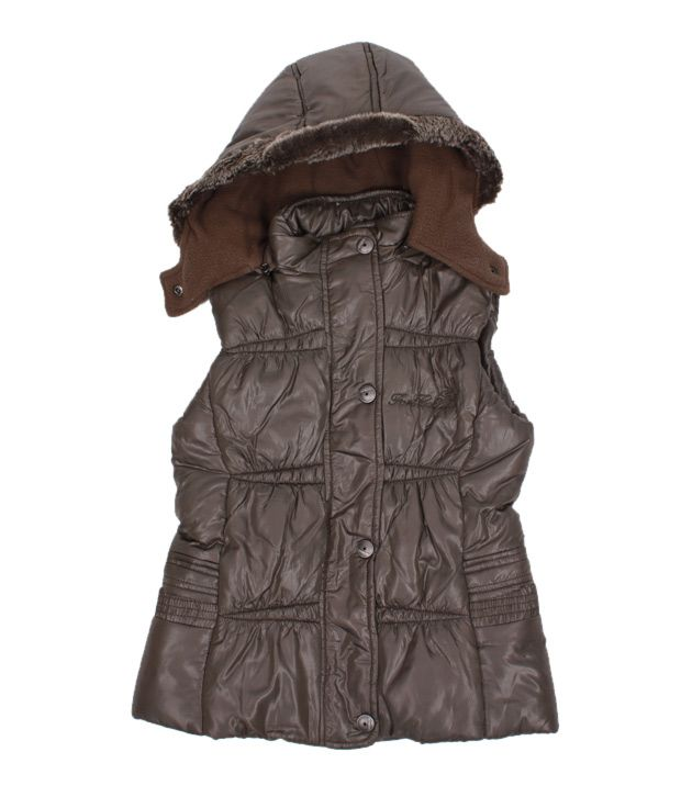 Fort Collins Dark Olive Green Jacket For Kids