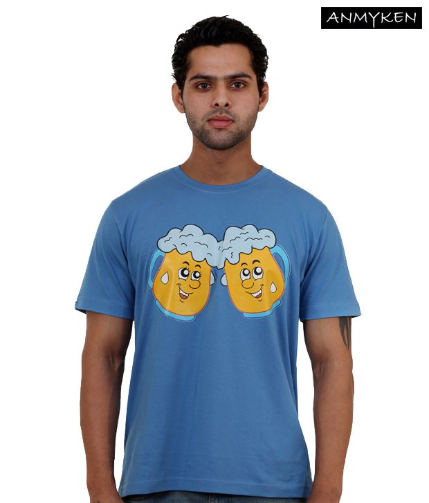Johney B Cheerz Sky Blue T Shirt
