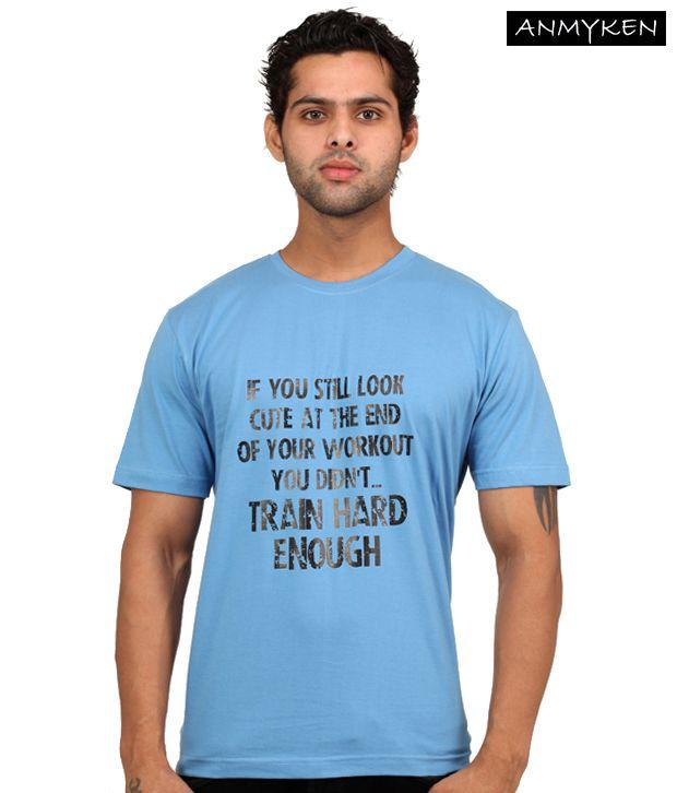 Johney B Gymonomics Sky Blue T Shirt