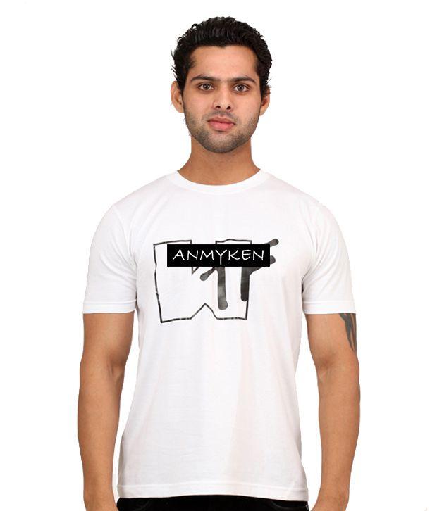 Johney B Wtf White T Shirt