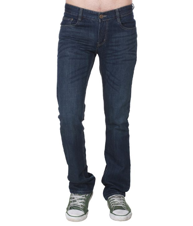 D-Jeans Black Regular Fit Jeans