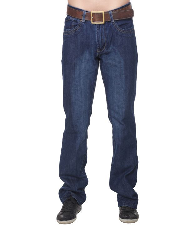 D-Jeans Dark Blue Regular Fit Jeans