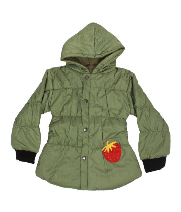 Fort Collins Green Hoodie Jacket For Kids
