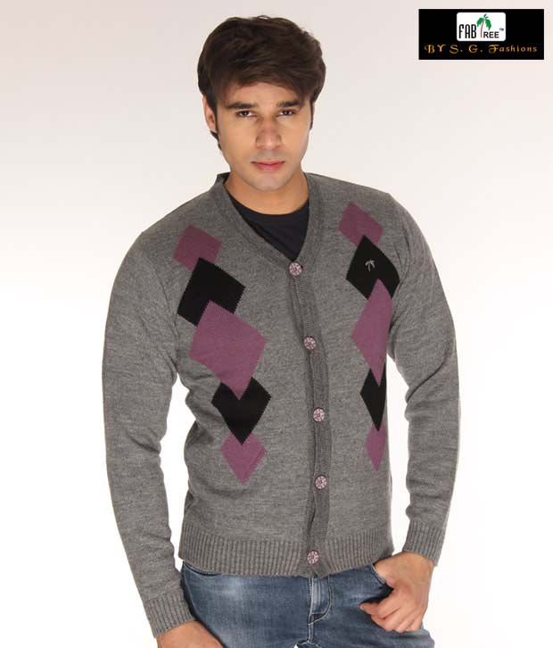 Fabtree Royal Grey Sweater