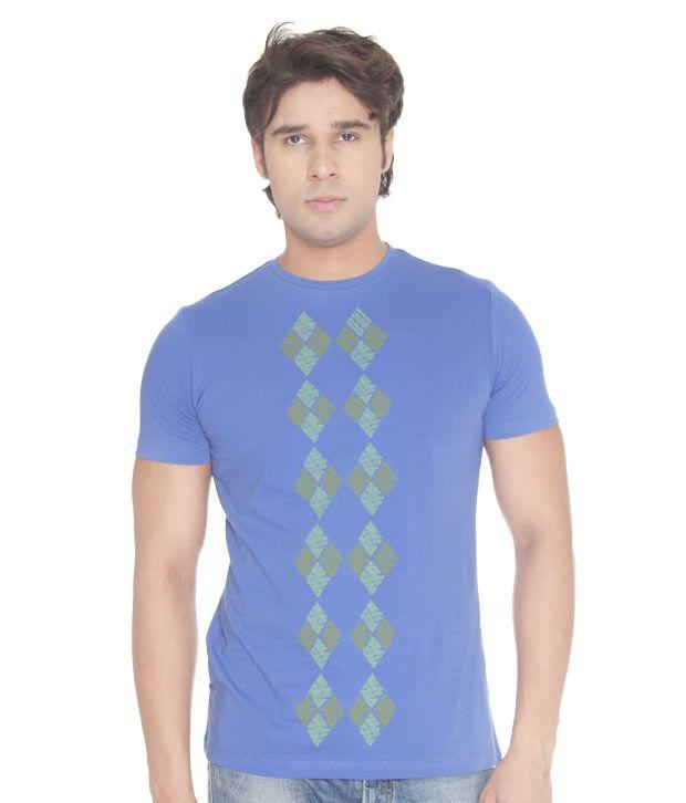 USI Dazzling Royal Blue T-Shirt