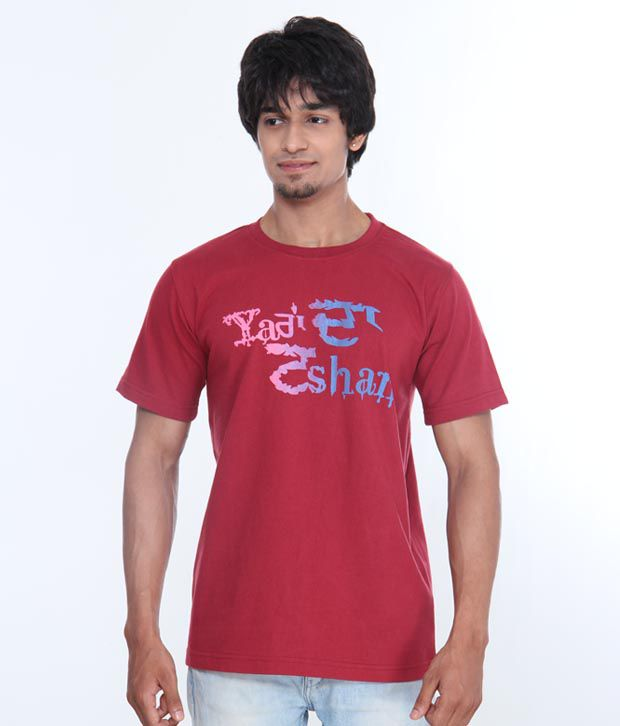 Casual Tees Tashan Red T Shirt