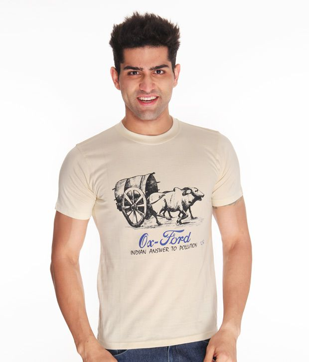 Free To Be Oxford Fawn T Shirt