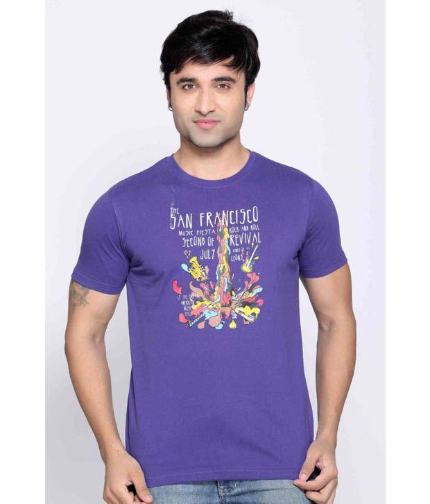 Locomotive Purple T Shirt