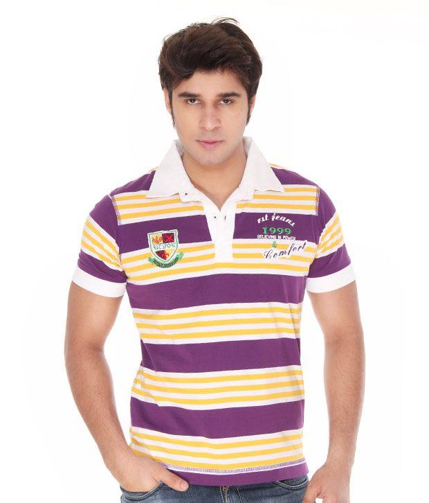 Riverstone  Purple Polo T-Shirt