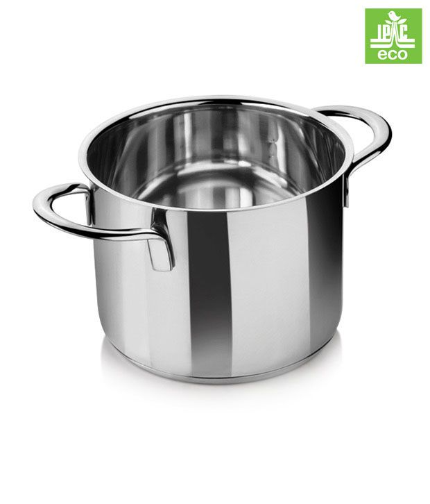 i pac stainless steel cooking pot buy online at best price in india snapdeal. Black Bedroom Furniture Sets. Home Design Ideas
