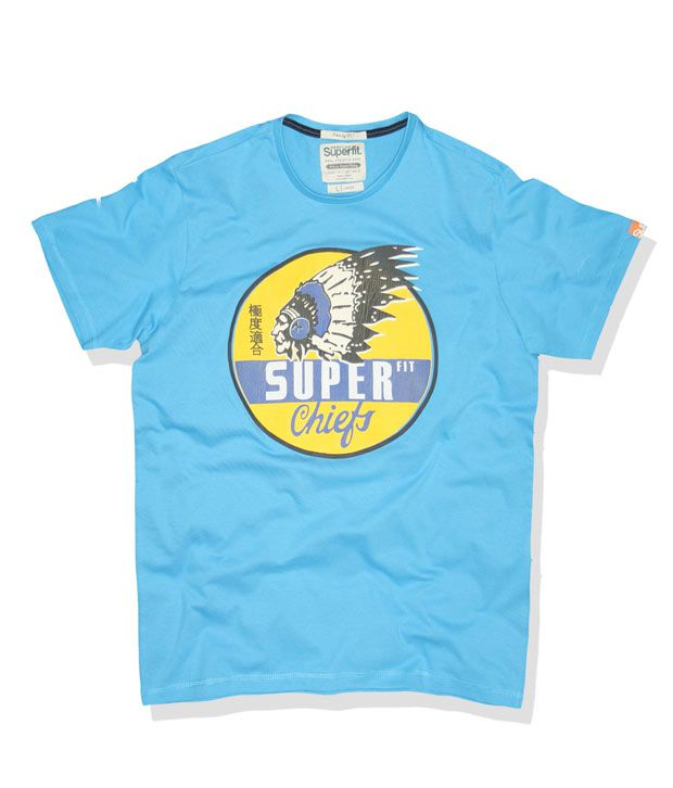 Superfit Turquoise Blue Chiefs T-Shirt
