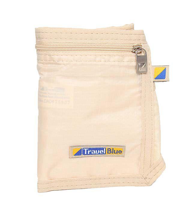 Travel Blue Ivory Security Money Belt