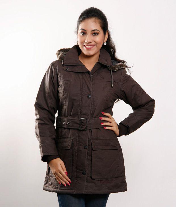 Fort Collins Coffee Long Fur Hood Jacket