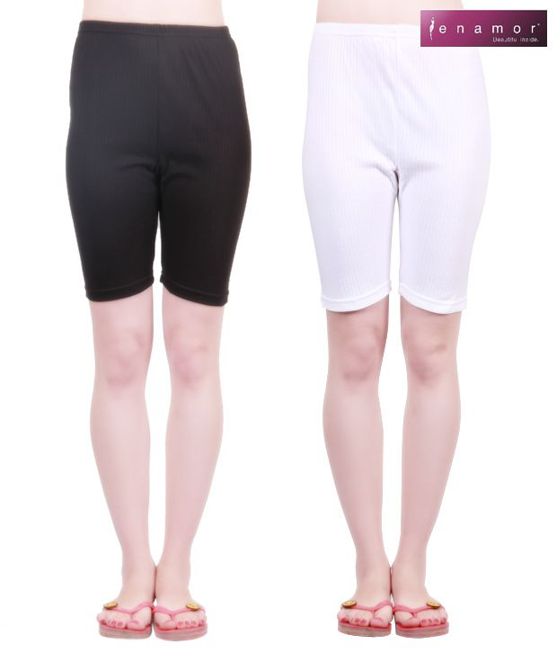Bodycare Black & White  Camisoles Pack of 2