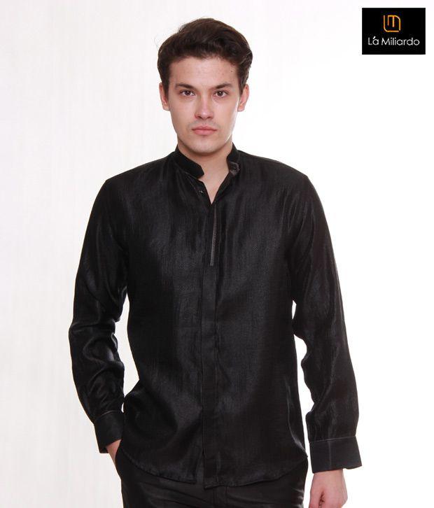 La Miliardo Blazing Black Shirt