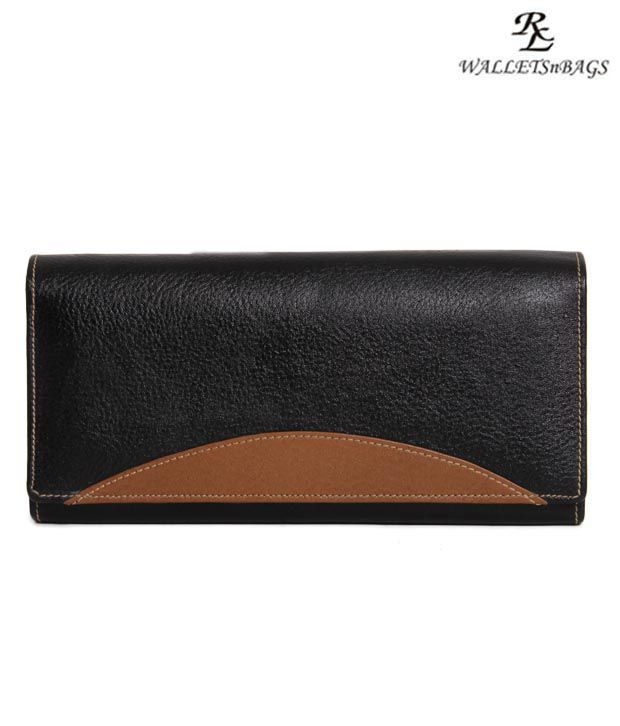 WalletsnBags Chic Black Wallet