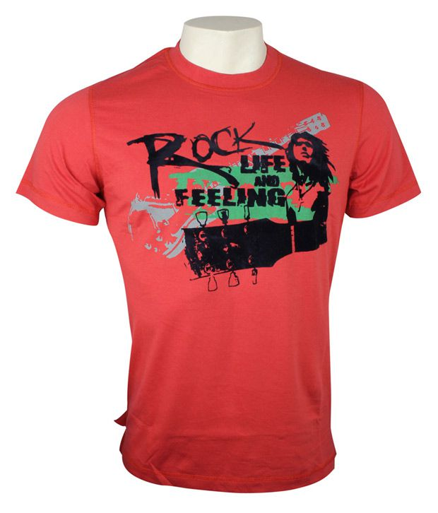 41c73e8f735 Matter Red Rock T-Shirt - Buy Matter Red Rock T-Shirt Online at Low Price -  Snapdeal.com