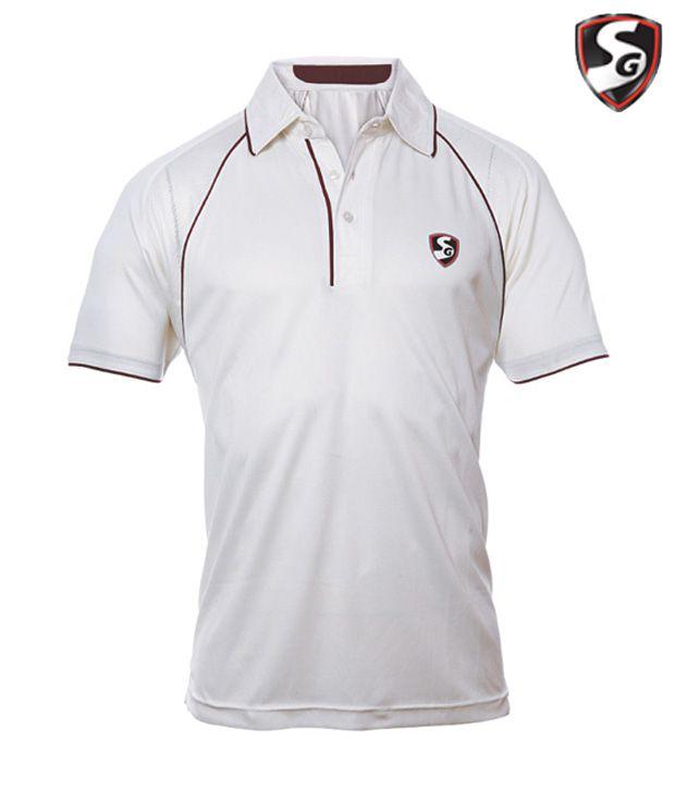 Sg Premium Cricket T Shirt Half Sleeves Buy Sg Premium