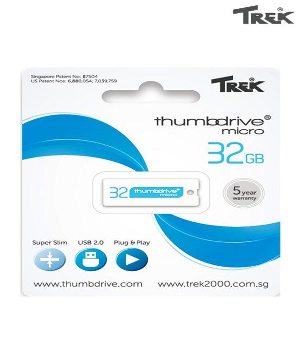 Trek Thumb Drive 32GB Pen Drive