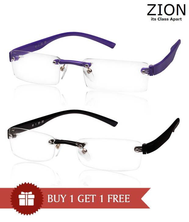 Zion Peppy Purple Optical Frame