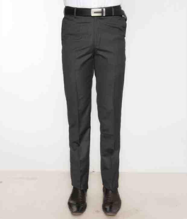 Bombay High Smart Dark Grey Trouser