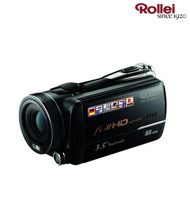 Rollei RY-816DA Video Camera (Black)