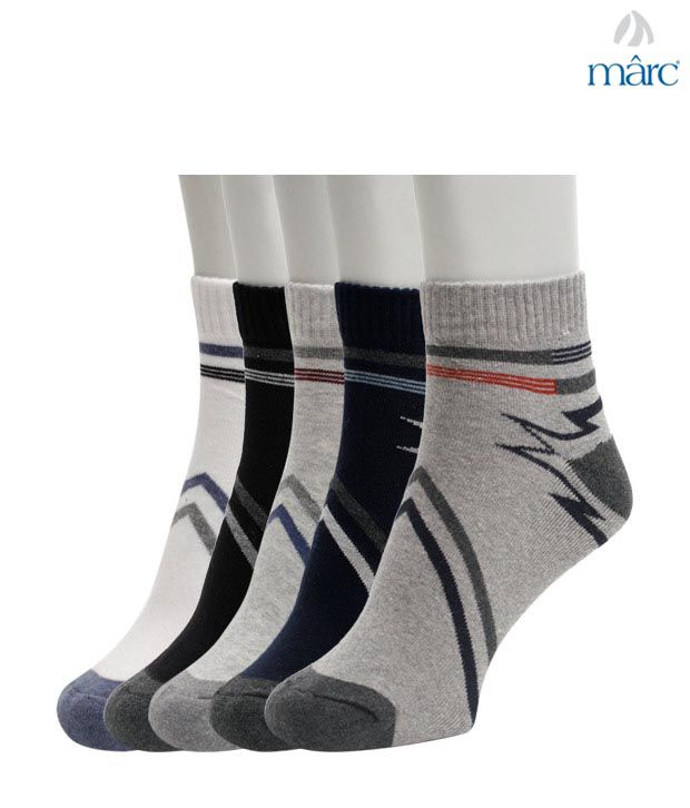 Marc Stylish Abstract Design Set of Five Socks
