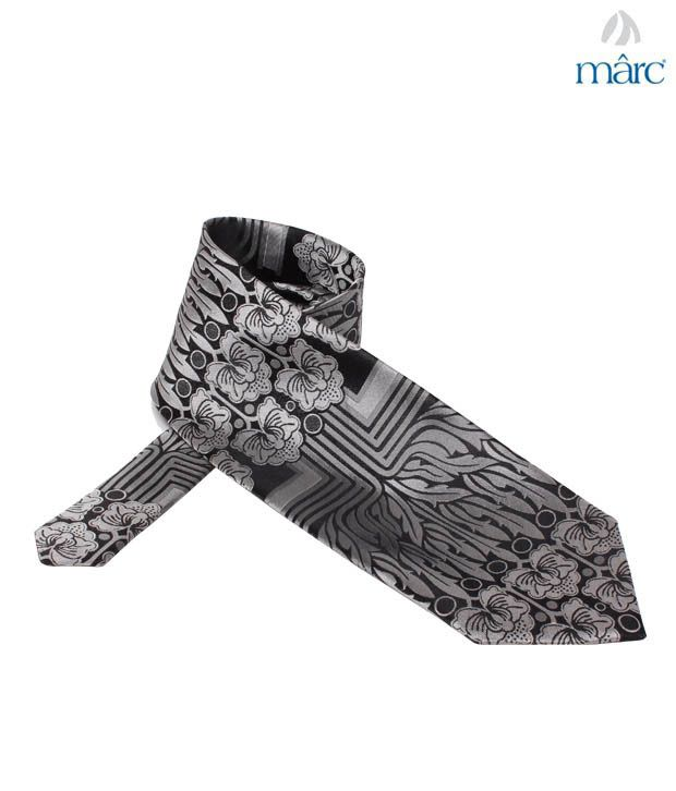 Marc Black Abstract Necktie