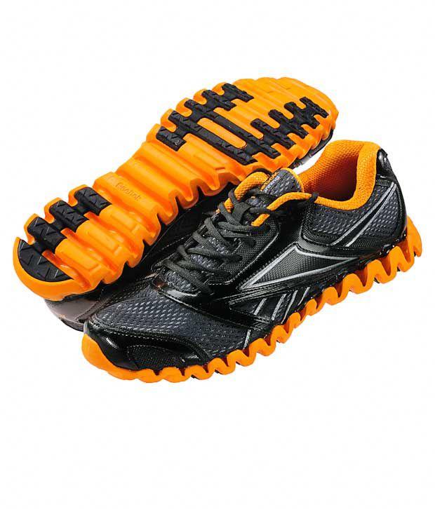 Buy Reebok Zignano Race Black \u0026 Orange