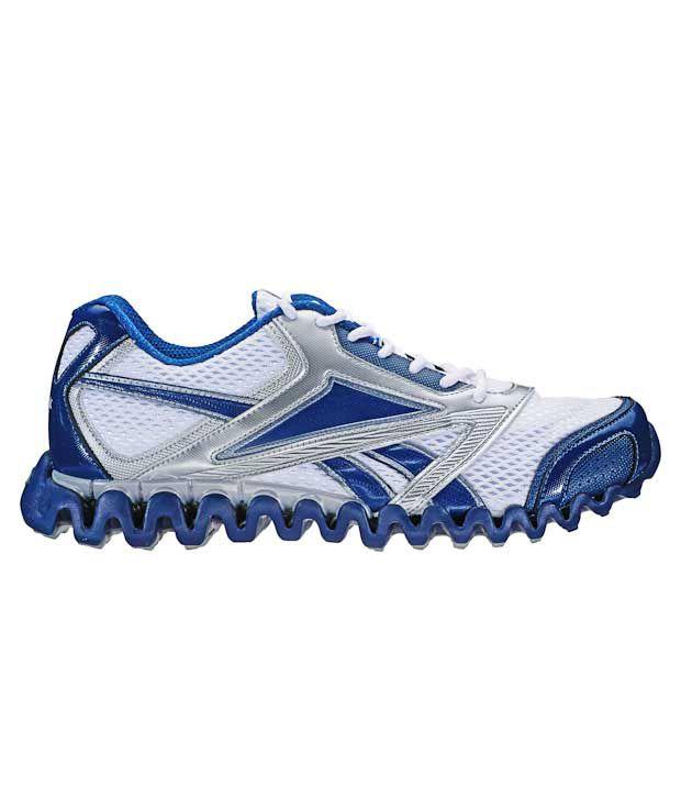 Reebok Zignano Race White   Blue Running Shoes - Buy Reebok Zignano ... bfc11efbc