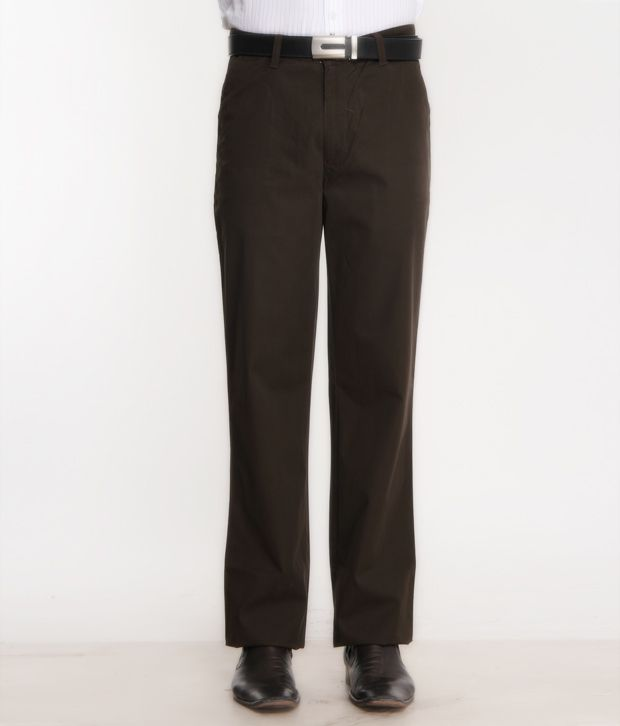 Bombay High Brown Trouser