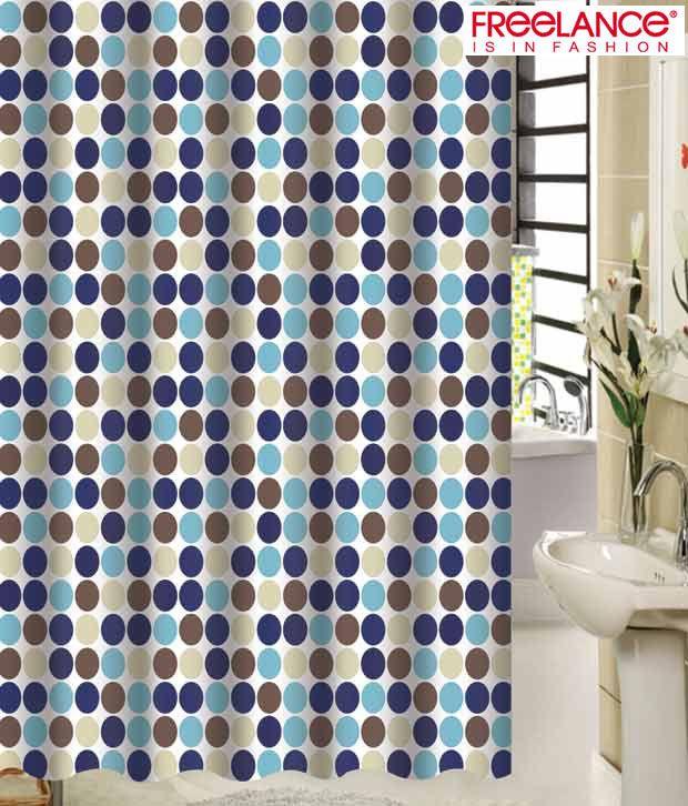 Freelance Circular Pattern Shower Curtain