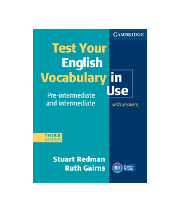 Test Your English Vocabulary In Use Pre-Intermedaite