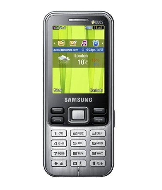 Samsung Metro C3322  Black