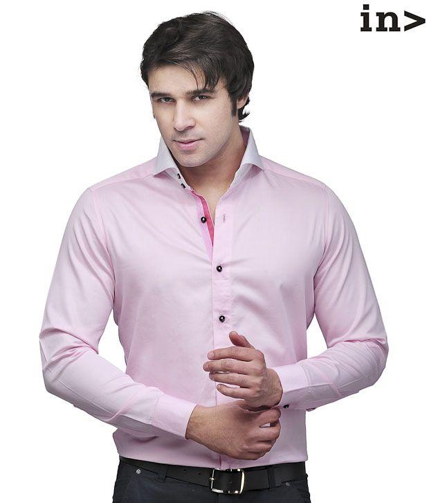 Invogue Stylish Pink Shirt