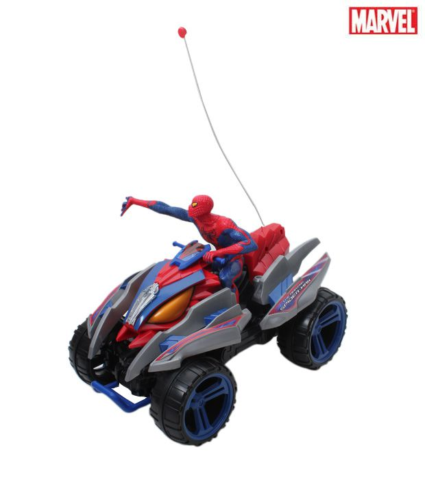 Marvel R/C Spider Action Mega Quad