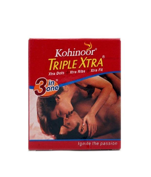 Kohinoor Triple Xtra Condoms (Pack of 10)