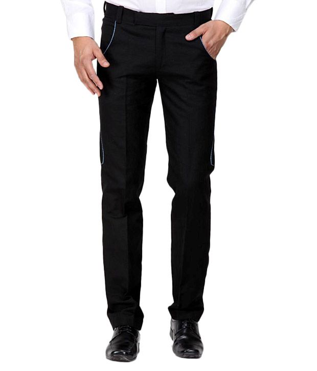 Earthen Canvas Imperial Black Men's Trouser